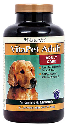 NaturVet VitaPet Adult | Canine Supplements