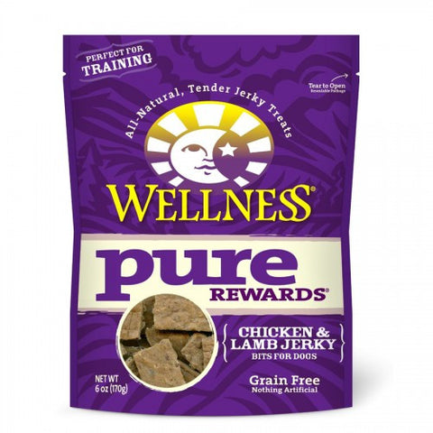 Wellness® PURE REWARDS® (GRAIN FREE) - Chicken & Lamb Jerky | Treats