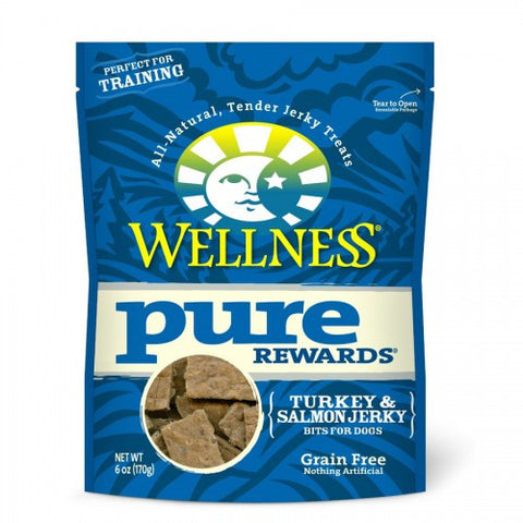 Wellness® PURE REWARDS® (GRAIN FREE) - Turkey & Salmon Jerky | Treats