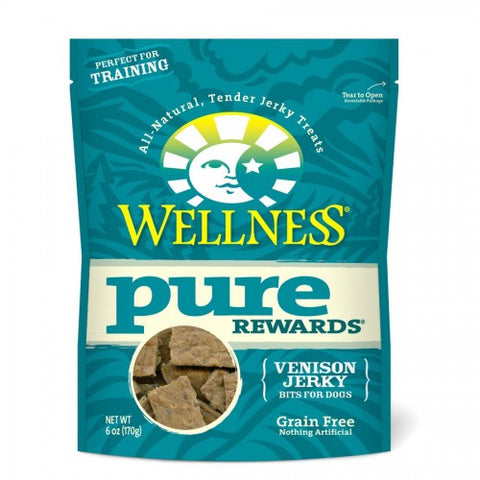 Wellness® PURE REWARDS® (GRAIN FREE) - Venison Jerky | Treats