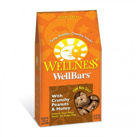 Wellness® WELLBARS® OVEN-BAKED BISCUITS - Crunchy Peanuts & Honey | Treats