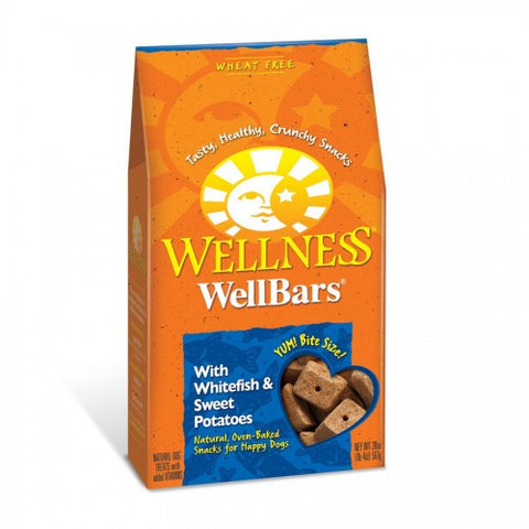 Wellness® WELLBARS® OVEN-BAKED BISCUITS - Whitefish & Sweet Potatoes | Treats