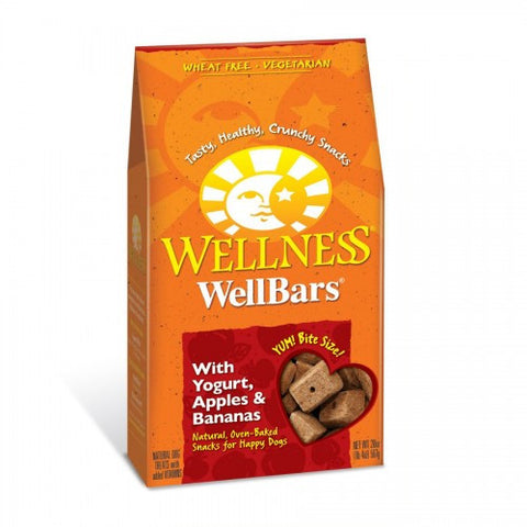 Wellness® WELLBARS® OVEN-BAKED BISCUITS - Yogurt, Apples & Bananas | Treats