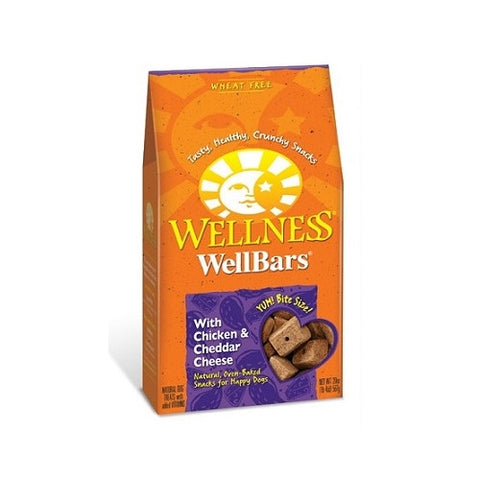 Wellness® WELLBARS® OVEN-BAKED BISCUITS - Chicken & Cheddar Cheese | Treats