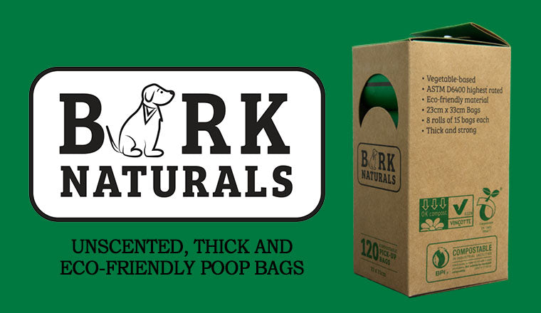 Bark Naturals Eco-Friendly Dog Poop Bags