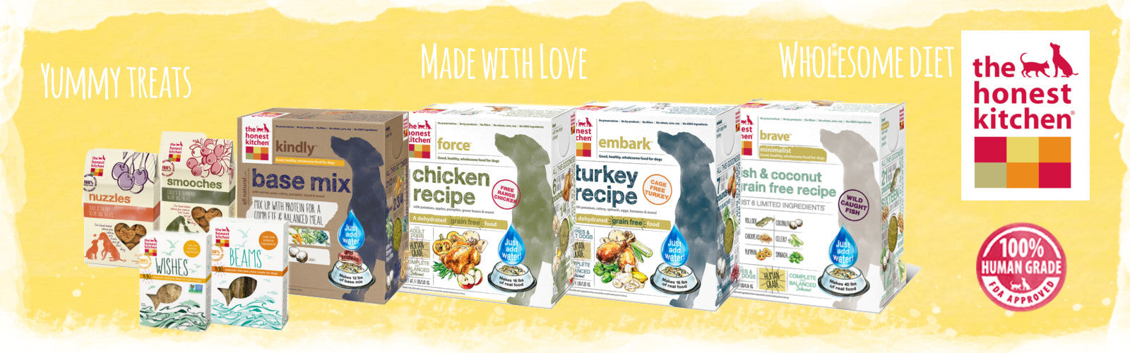 The Honest Kitchen Online Dog Food Singapore