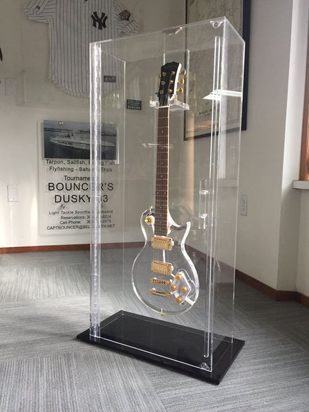 Guitar Display Case Plastic Craft Products