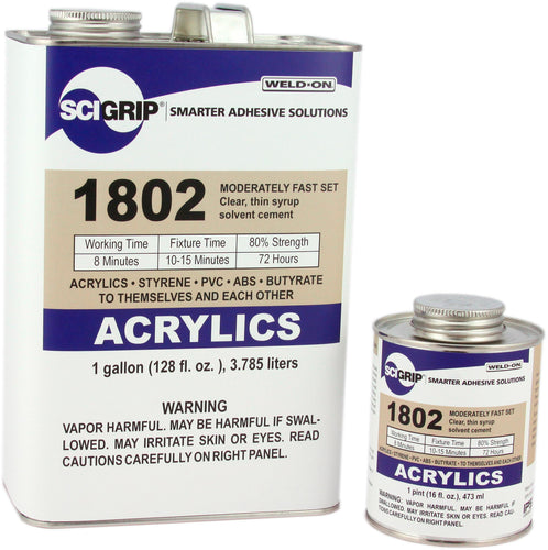 SCIGRIP IPS Weld-On #1802 Solvent Cement