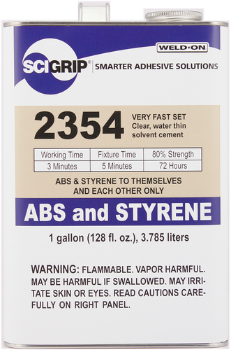 SCIGRIP IPS Weld-On #2354 Solvent Cement