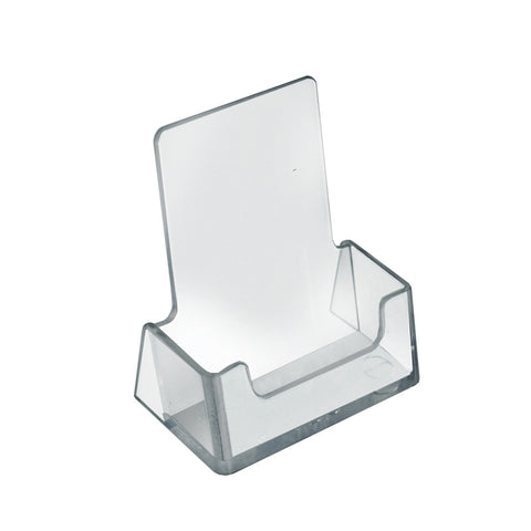 "Vertical Business Card Holder (Acrylic)  - 2.5""W x 1.5""D x 2.75""H"
