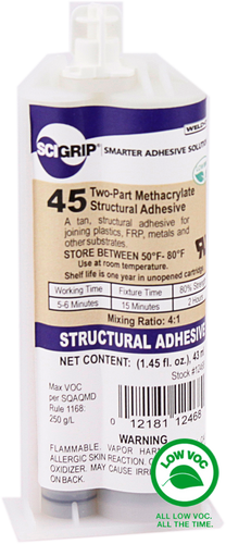 SCIGRIP IPS Weld-On #45 Adhesive - 43 ml