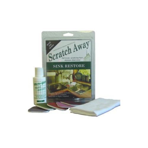 Micro-Mesh Scratch Away Sink Restore - Scratch Remover for Stainless Steel Sinks