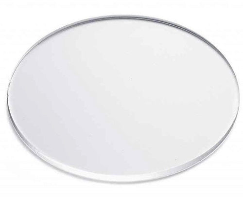 Acrylic Disc / Plexiglass Circle - Transparent / Clear