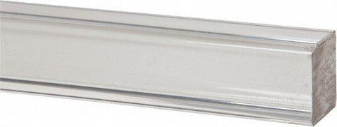 Clear Extruded Acrylic Square Rod