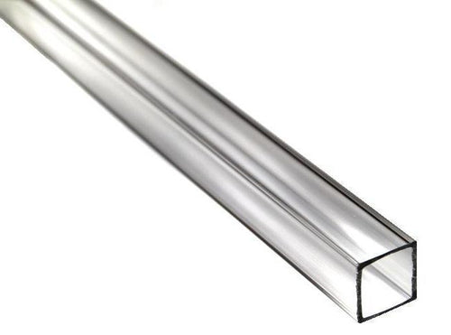 Clear Extruded Acrylic Square Tube