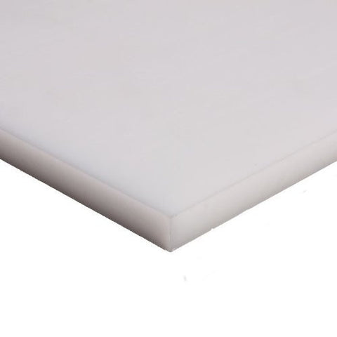 Natural Acetal Copolymer Sheet (Extruded) - Pick Length and Thickness - Plastic-Craft Products