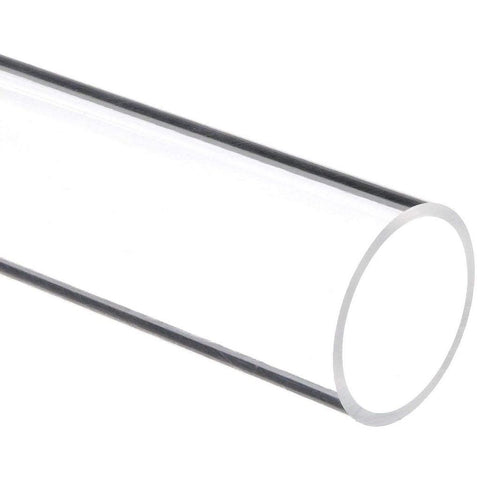 "Extruded Acrylic Tube - 1/4"" Wall Thickness"