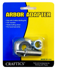 Craftics Arbor Adapter - Plastic-Craft Products