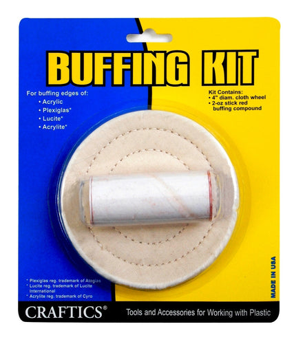 Craftics Plastic Buffing Kit - Plastic-Craft Products