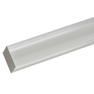 "Extruded Acrylic Square Rod 3/16"" x 6-ft - Clear - 4 Pack"