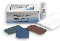 Micro-Mesh Clear Coat Paint Repair Kit - Plastic-Craft Products