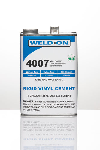 SCIGRIP IPS Weld-On #4007 - Low-VOC High-Strength Cement for Rigid and Foamed PVC -  Gallon - 11125