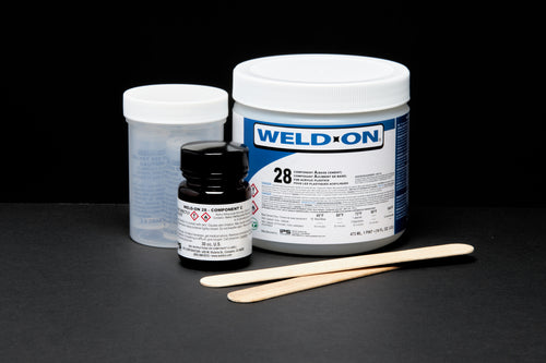 SCIGRIP IPS Weld-On #28 Kit 3-Part Acrylic Based Adhesive - 1 Pint (16 oz.) 11780
