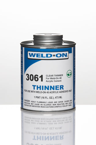 SCIGRIP IPS Weld-On #3061 - Thinner for #40 - Pint - 11283