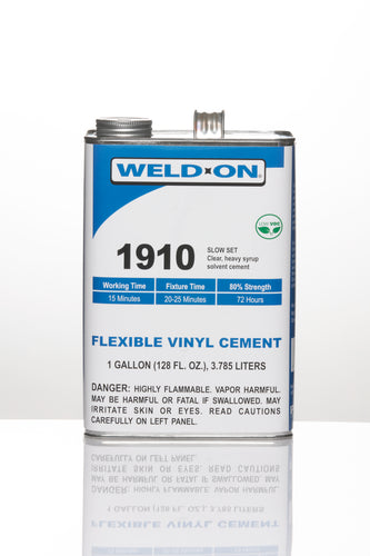 SCIGRIP IPS Weld-On #1910 - Slow Curing High-Strength Flexible Cement - Gallon - 10437