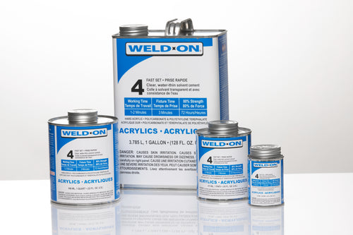 SCIGRIP IPS Weld-On #4 - Fast Set Solvent Cement for Acrylics