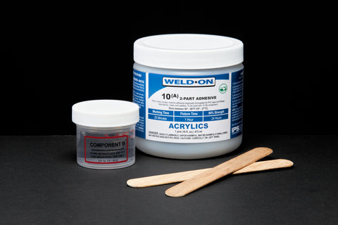 SCIGRIP IPS Weld-On #10 - Low VOC Structural Adhesive 2-Part Kit