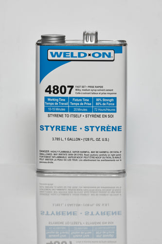 SCIGRIP IPS Weld-On #4807 - Low Voc Styrene Cement - Gallon - 11131