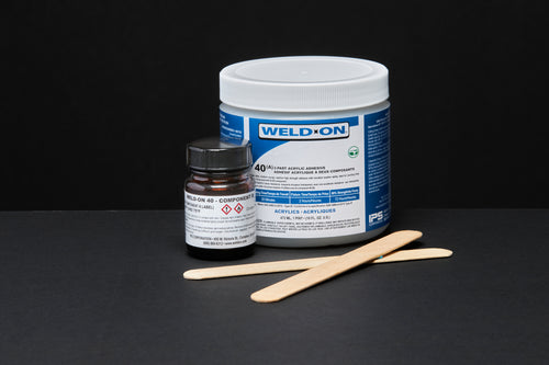 SCIGRIP IPS Weld-On #40 2-Part Acrylic Cement Adhesive Kit