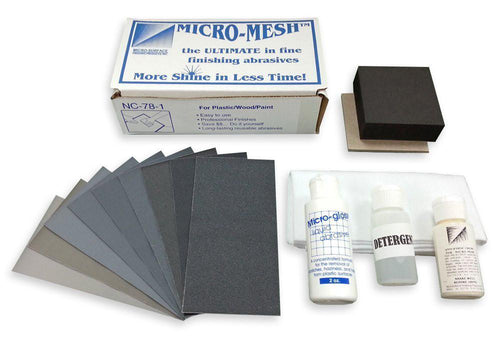 Micro-Mesh NC-78-1 Acrylic Restoral Kit - Plastic-Craft Products