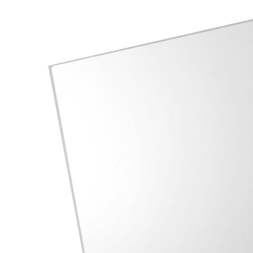 "Non-Glare Acrylic, Clear, Transparent, 1.5 MM, 1/16"" Thick"