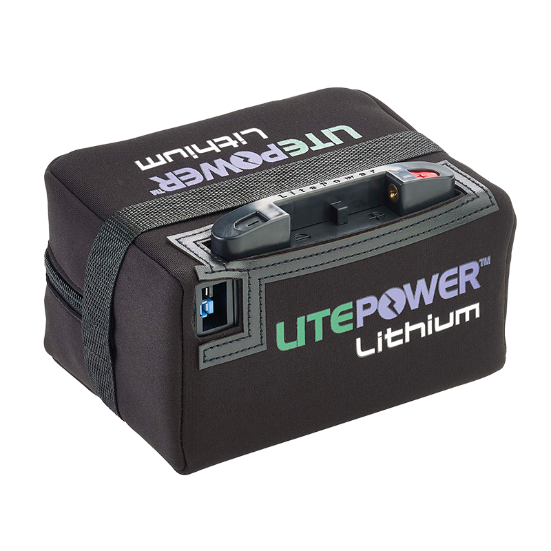 Extended Range Lithium Battery & Charger