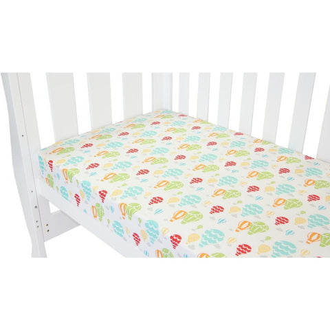 Babyhood - Up in the sky fitted sheet