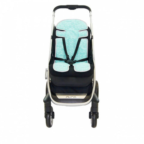 Babyhood - Up in The sky Stroller Liner Blue
