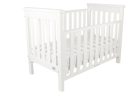 Babyhood Milano 4 in1 Cot (White)