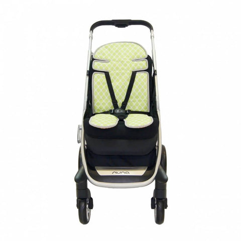 Babyhood - Up in the sky Stroller Liner Green