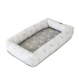 Babyhood Cosy Crib Breathe Eze Pod (White Leaf)