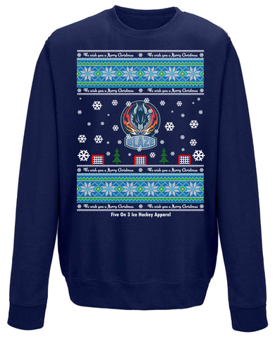 Blaze Christmas Sweater