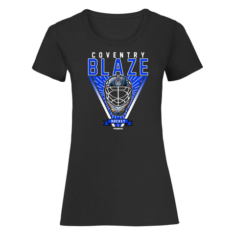 2019 Goalie Mask Lady Fit Tee