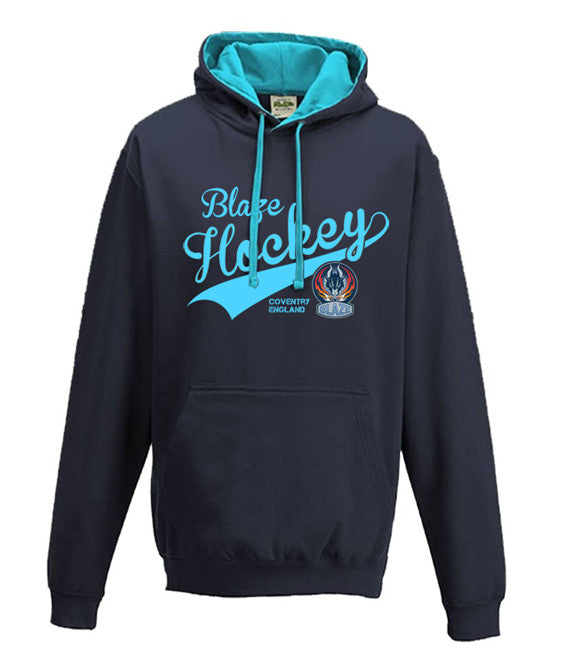 Blaze Retro Hoody Blue