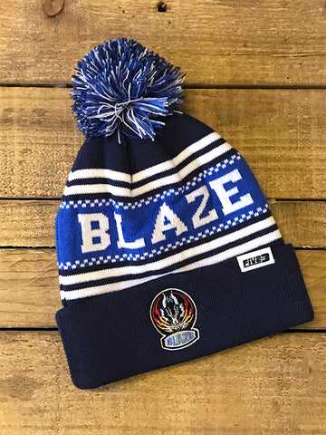New Royal Blue Bobble Hat