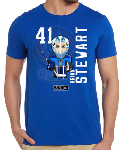 Brian Stewart T Shirt by Five On 3