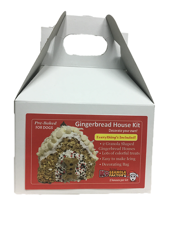 K9 Granola Factory - Gingerbread House Kit