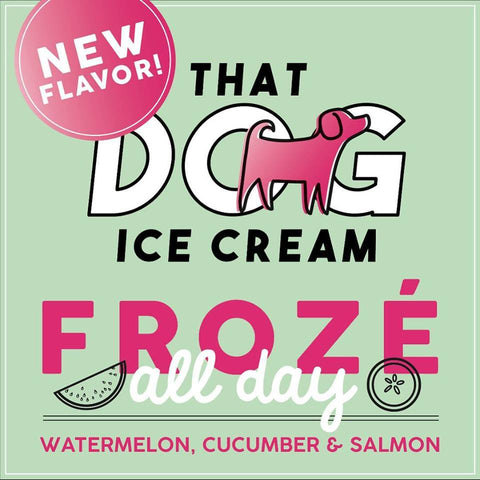 That Dog Ice Cream - Froze All Day Ice Cream Treat (Local Tampa Bay Delivery Only)