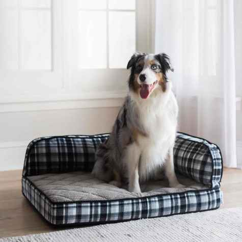La-Z-Boy - Spencer Plaid Sadie Orthopedic Sofa Bed