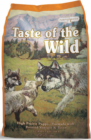 Taste of the Wild - High Prairie Puppy - Dry Dog Food - Various Sizes